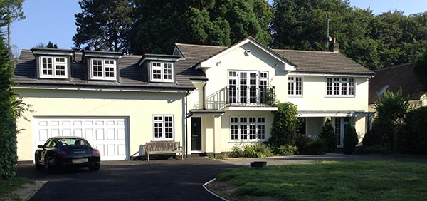 Building Extensions Surrey